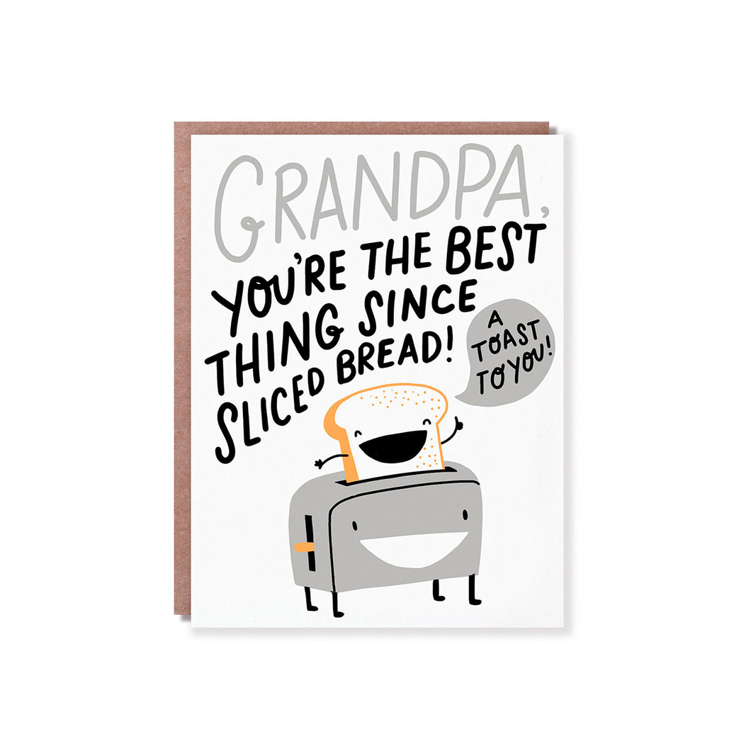 Hello Lucky - Single Card - A Toast To Grandpa