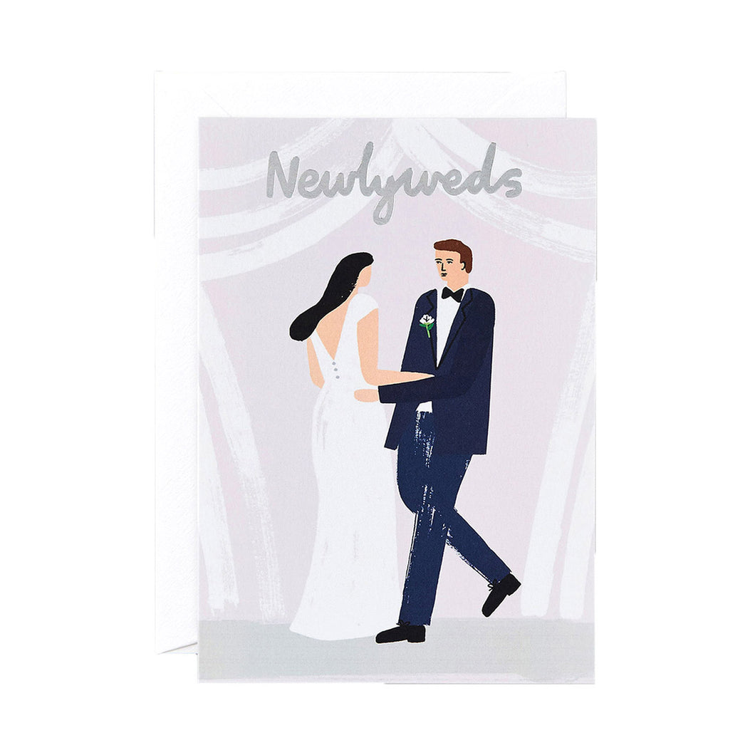 WRAP - Charlotte Trounce Collection - Single Card with Foil - Newlyweds