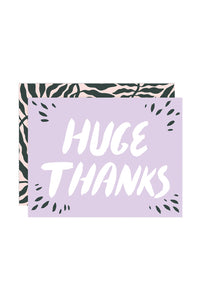 WRAP - Linnea And-Ast Collection - Single Card - Huge Thanks