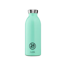 Load image into Gallery viewer, 24Bottles - Pastel Collection - Clima Bottle - Stainless Steel Drink Bottle - 500ml - Aqua Green