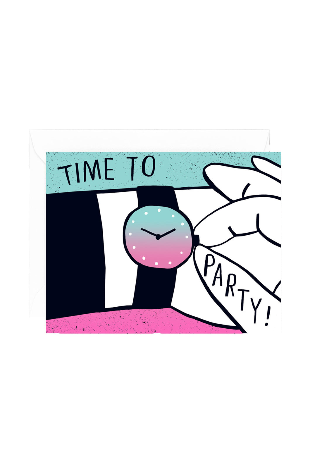 WRAP - Sandi Falconer Collection - Single Card with Foil - Time to Party