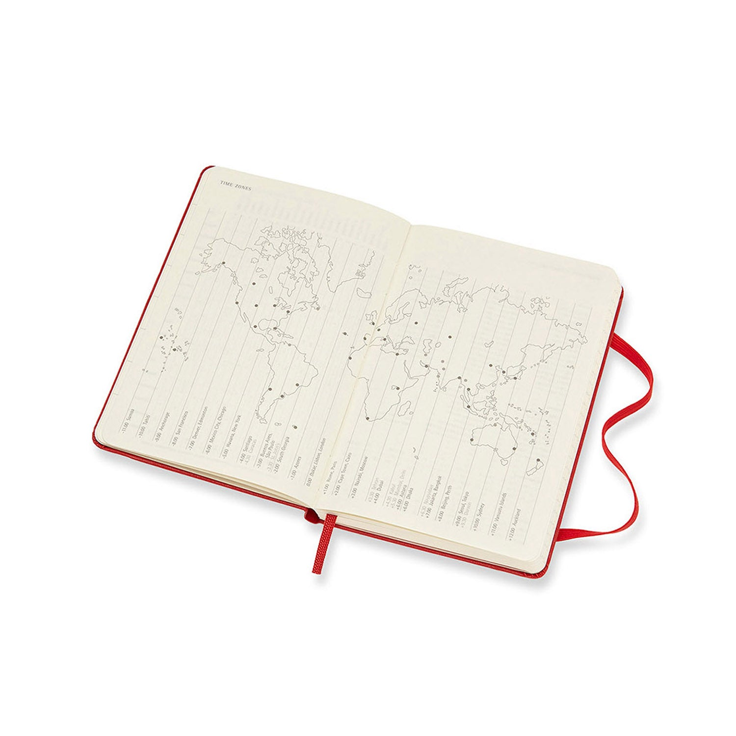 Moleskine - 2020-21 18 Month Hard Cover Diary - Weekly Notebook - Pocket - Scarlet Red