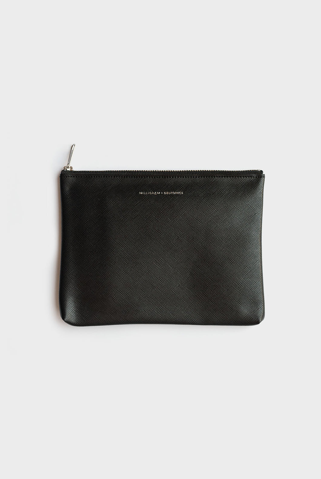 Milligram + Delfonics Collaboration - Pouch - Medium (19.5 x 14cm) - Black