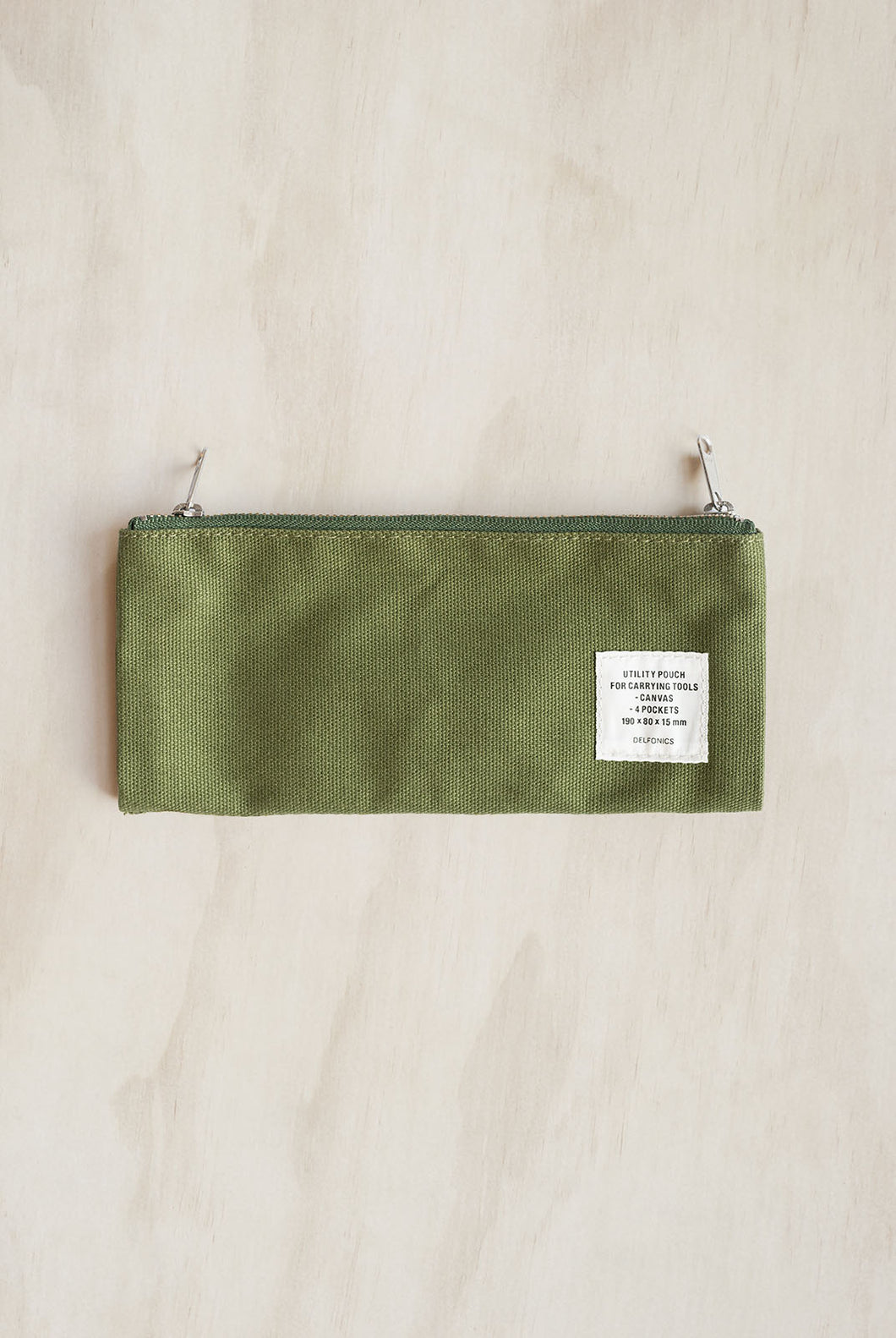 Delfonics - Utility Pouch Pencil Case - Green