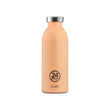 Load image into Gallery viewer, 24Bottles - Pastel Collection - Clima Bottle - Stainless Steel Drink Bottle - 500ml - Peach Orange