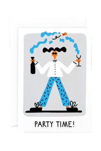 WRAP - Lawrence Slater Collection - Single Card - Party Time Fizz