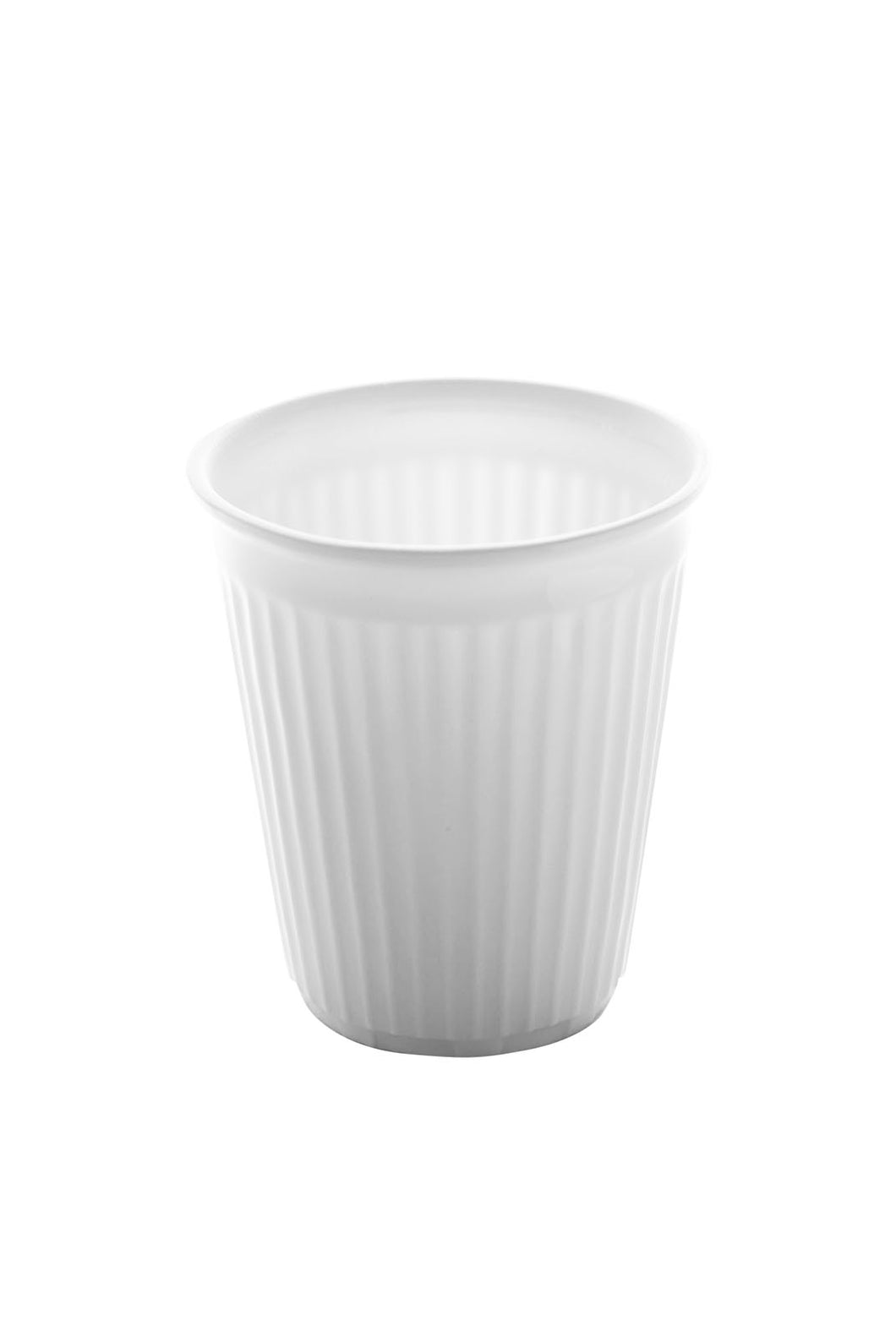 Serax - Geometry Collection - Porcelain Crease Beaker - Small - White