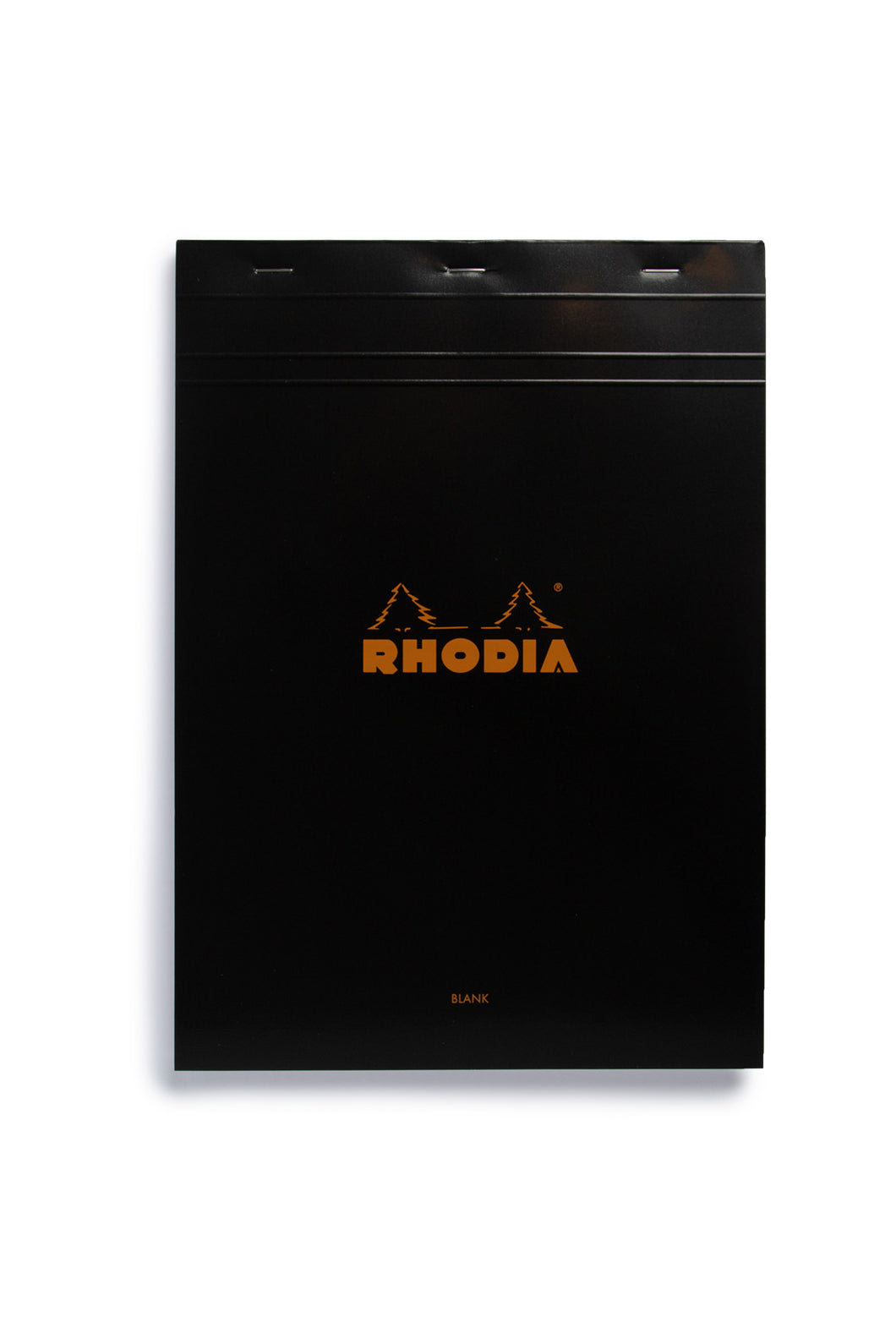 Rhodia - Pad #18 - Top Stapled - Plain - A4 - Black