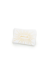 Ashkahn - Box of 25 Mini Letterpress Cards - You're Cute