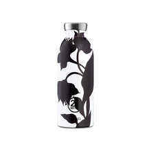 Load image into Gallery viewer, 24Bottles - Botanique Collection - Clima Bottle - Stainless Steel Drink Bottle - 500ml - Black Dahlia