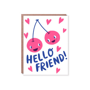 Hello Lucky - Single Card - Hello Friend
