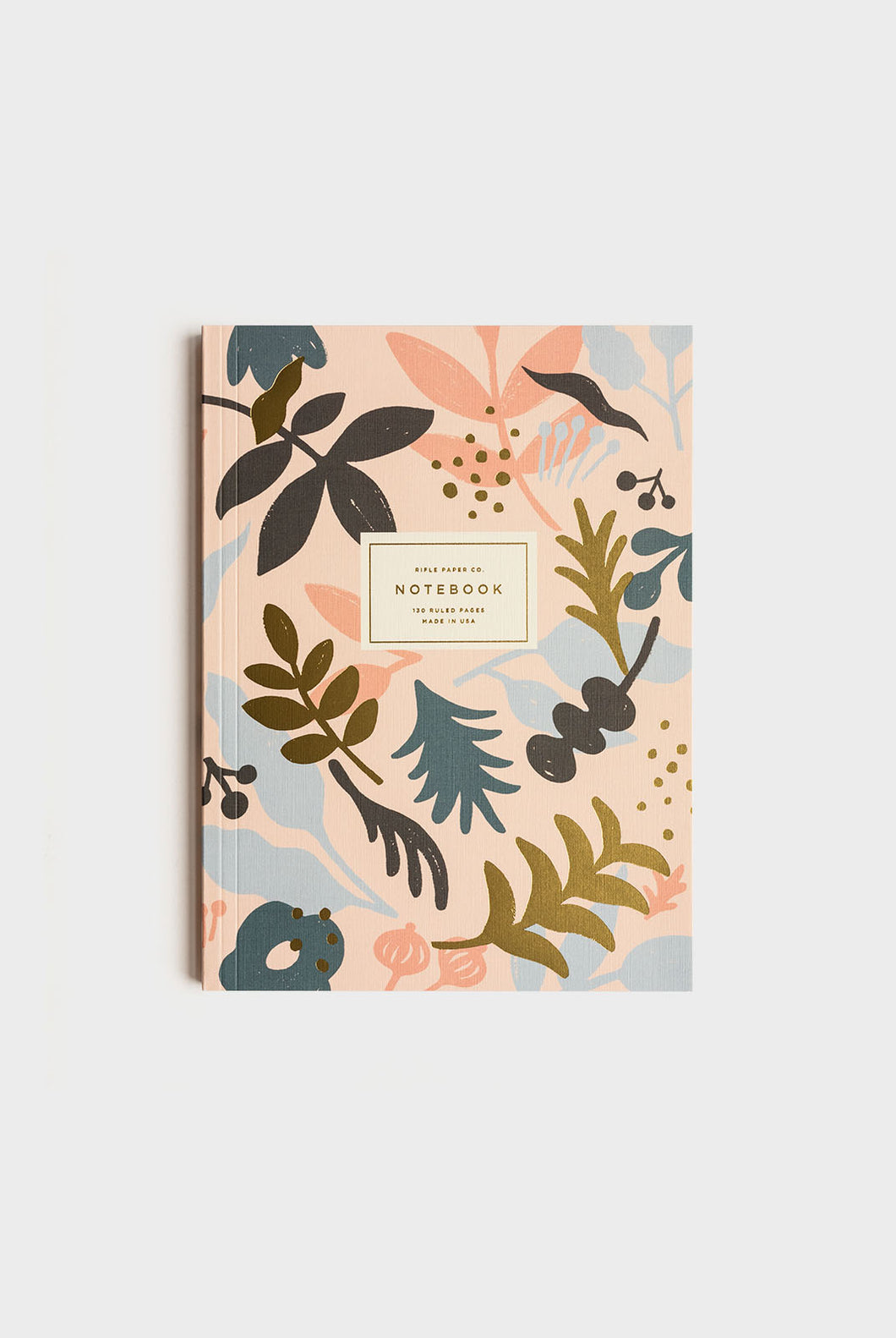 Rifle Paper Co - Memoir Notebook - Ruled - Large (16x22cm) - Sun Print