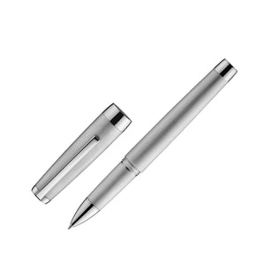 Jacques Herbin - Metal Rollerball Pen - Brushed & Polished Palladium