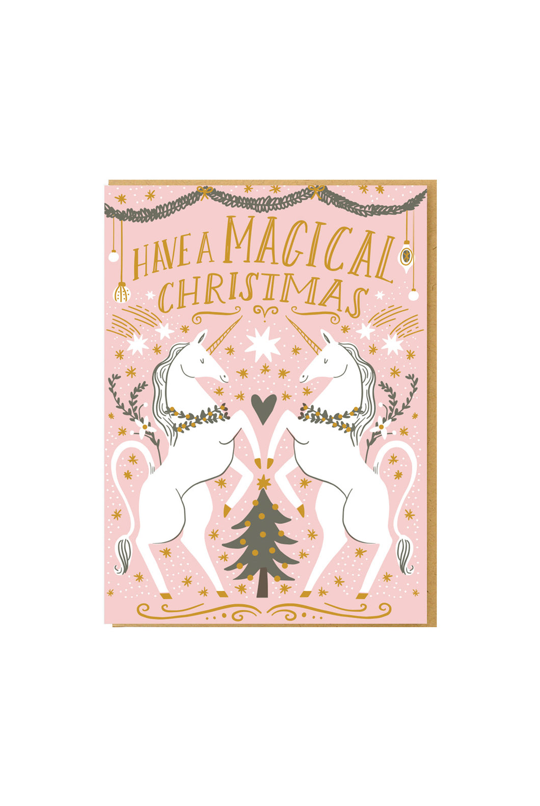 Hello Lucky - Single Card - Magical Christmas
