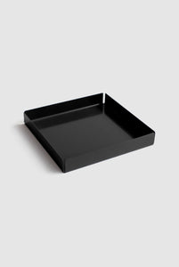 Telegram - Seconds - Metal Tray - Square - Black