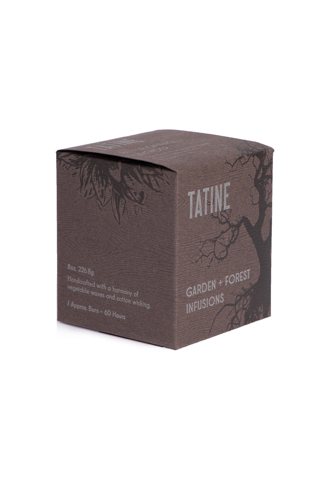 Tatine - Scented Candle - Garden and Forest Infusions Collection - Bitter Orange and Lavender