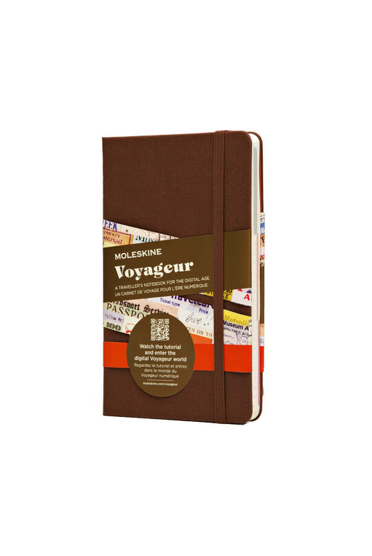 Moleskine - Voyageur Traveller's Notebook - Medium (11x18cm) - Hard Cover - Brown