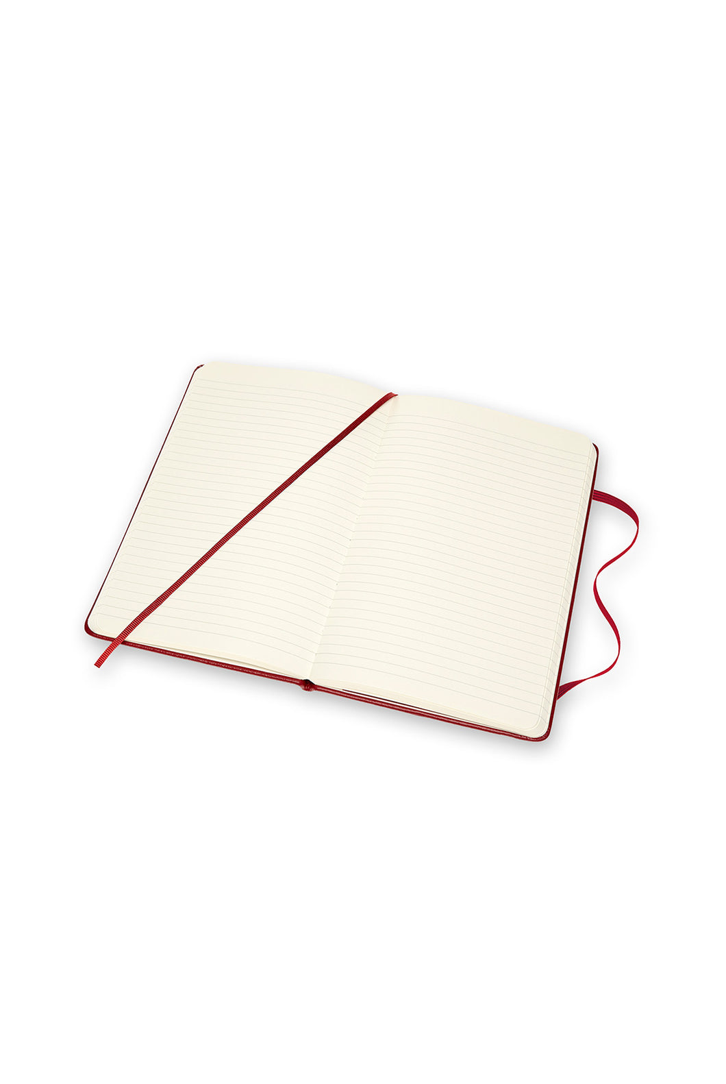 Moleskine - Limited Edition Classic Leather Soft Cover Notebook - Ruled - Large - Bordeaux Red