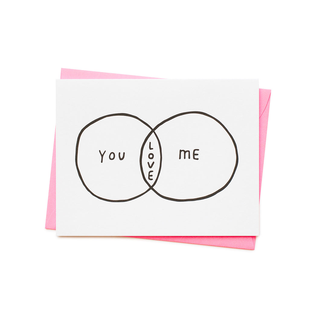 Ashkahn - Single Card - Venn Diagram of Love