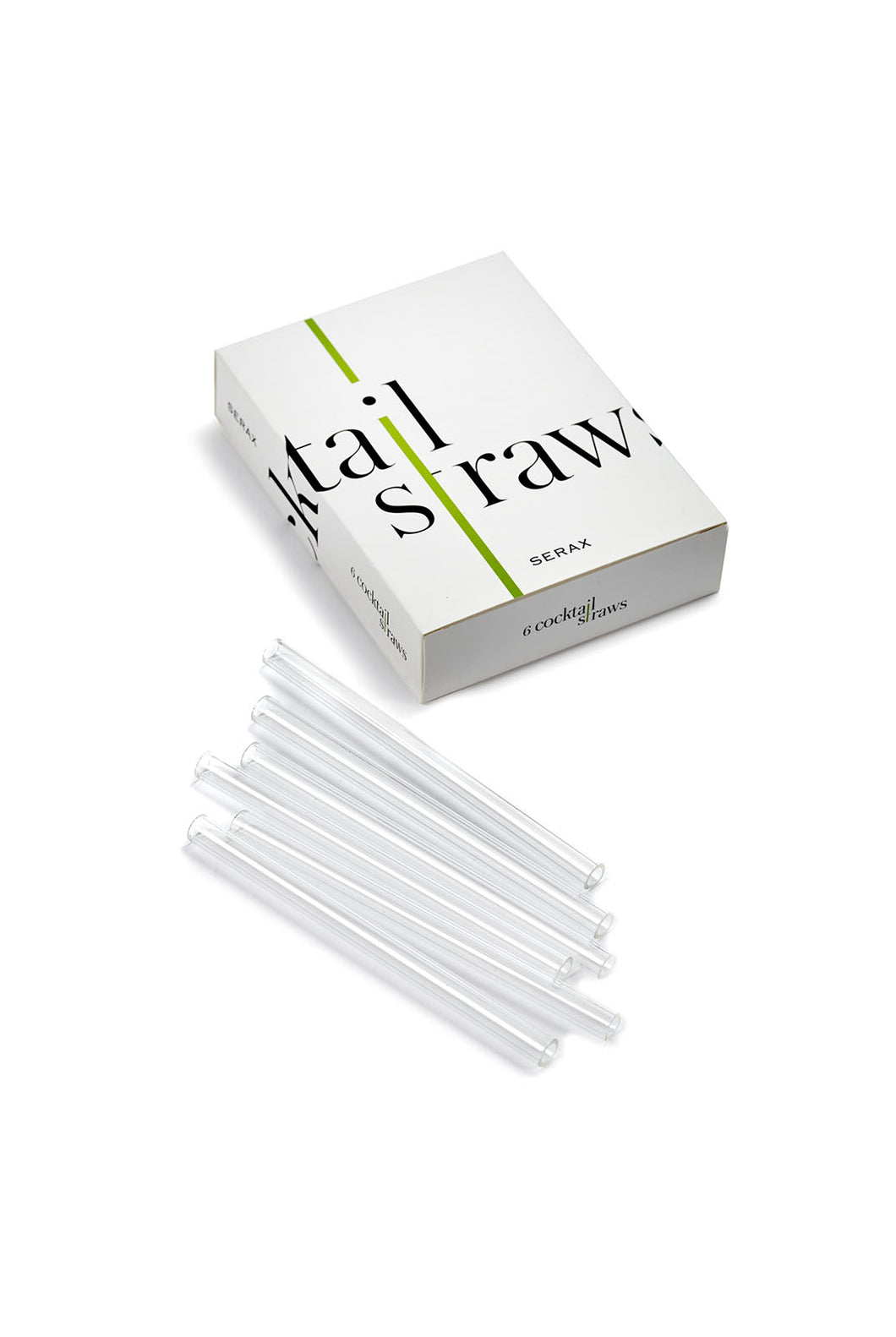 Serax - Glassware Collection - Cocktail Straw - Set of 6