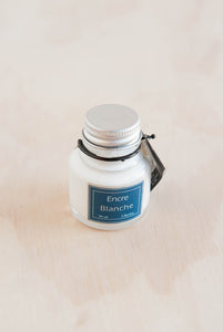 Herbin - Pigmented Ink - 30ml - White