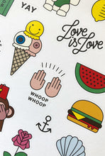 Load image into Gallery viewer, redfries - Sticker Set - Mishmash