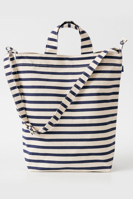 Baggu - Recycled Cotton Canvas Duck Bag - Sailor Stripe