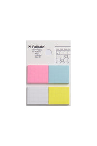 Delfonics - Sticky Memo for Rollbahn Diary - Large - Multicolour
