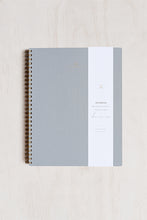 Load image into Gallery viewer, Appointed - Notebook - Grid - Extra Large (19x24cm) - Soft Cover - Dove Grey
