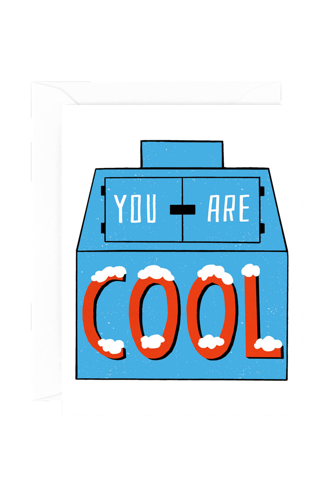 WRAP - Sandi Falconer Collection - Single Card with Foil - You Are Cool