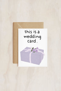 TAY HAM - Single Card - This Is A Wedding Card