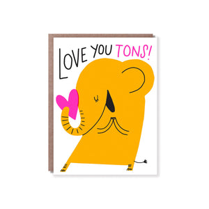 Hello Lucky - Single Card - Love You Tons