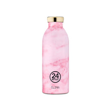 Load image into Gallery viewer, 24Bottles - Grand Collection - Clima Bottle - Stainless Steel Drink Bottle - 500ml - Pink Marble