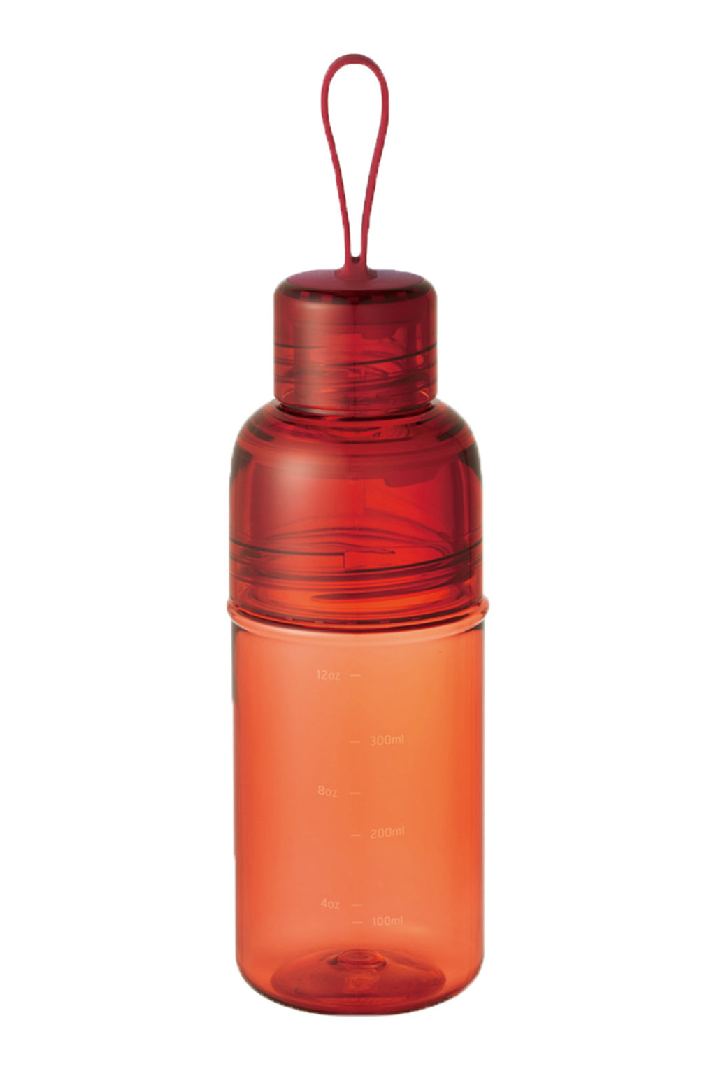 Kinto - Workout Bottle - 480ml - Red