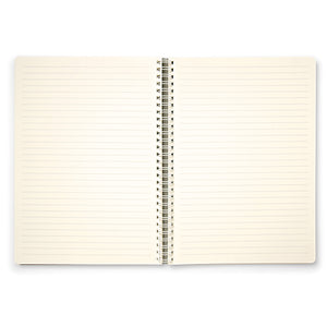 Spiral Notebook - Ruled - B5 - Aqua