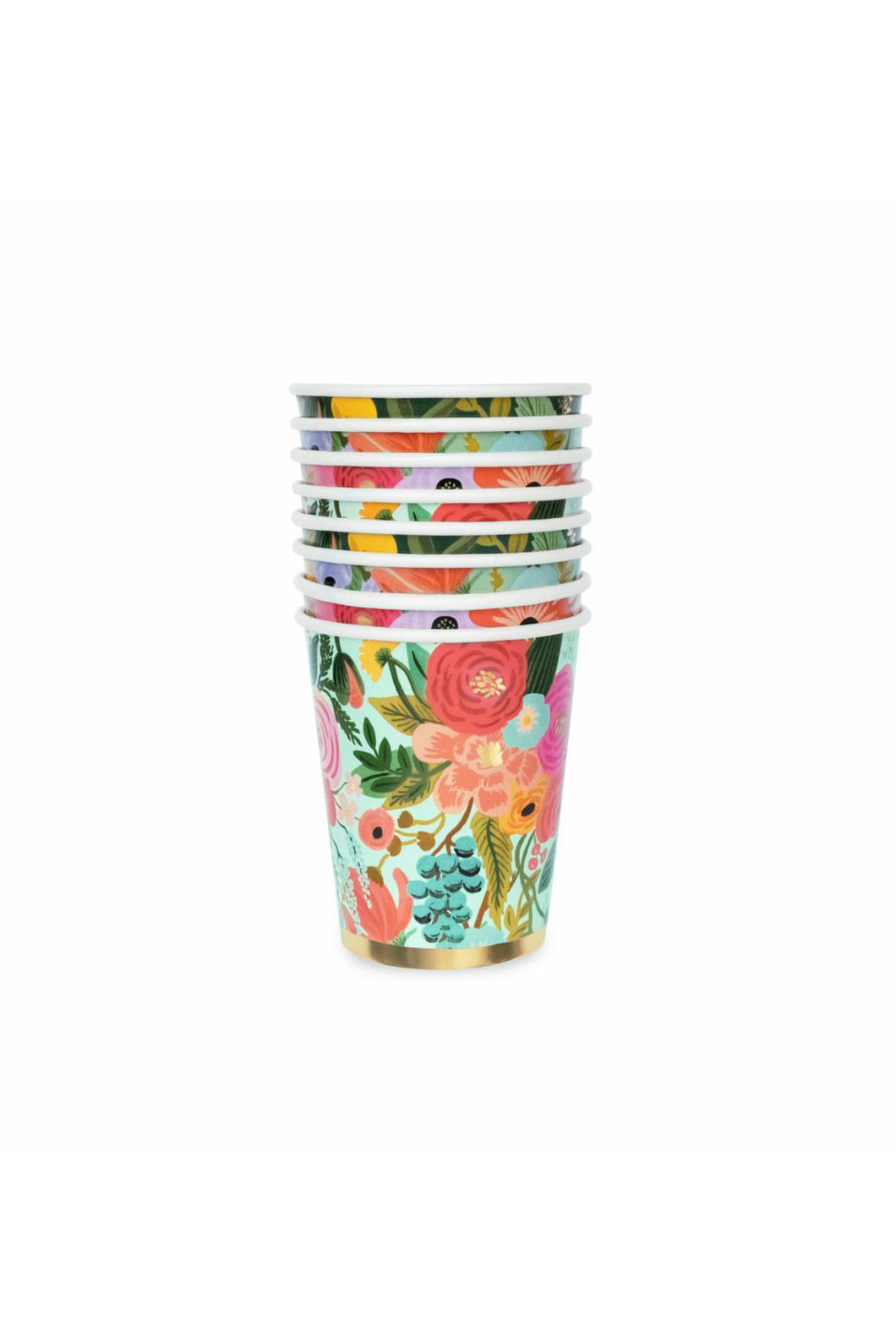 Rifle Paper Co - Paper Cups - Set of 12 - Garden Party