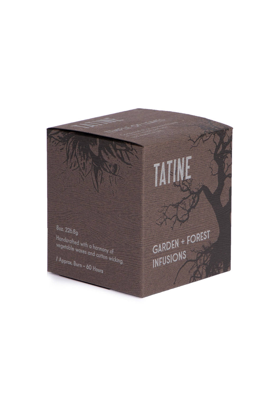 Tatine - Scented Candle - Garden and Forest Infusions Collection - Temple of Leaves