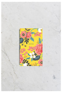 Rifle Paper Co - Notepad - Pocket (8x13cm) - Birch Floral