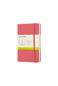 Moleskine - Classic Hard Cover Notebook - Plain - Pocket (9x14cm) - Daisy Pink