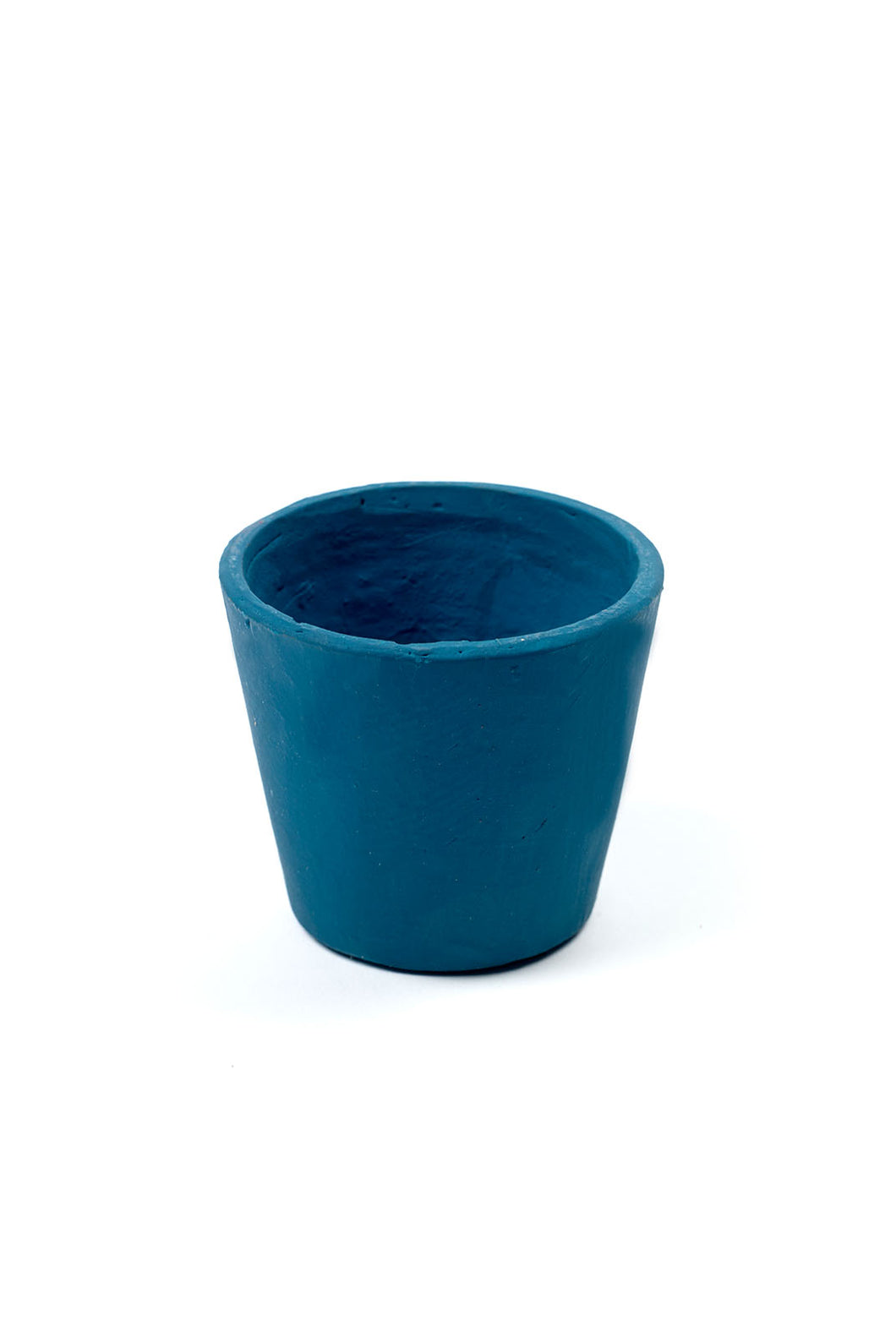 Serax - Pottery Collection - Stoneware Flower Pot - Extra Small - Teal Blue