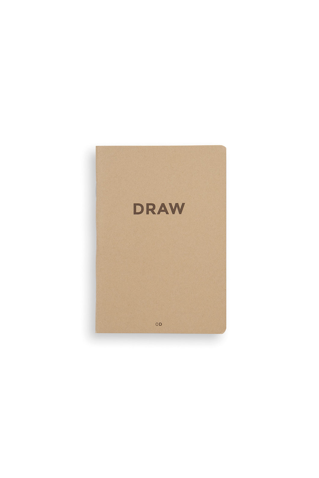 Octagon - Draw Mini Notebook - Plain - A6 - Kraft