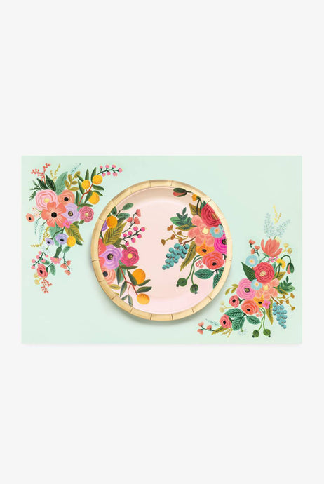 Rifle Paper Co - Paper Placemats - Set of 24 - Garden Party