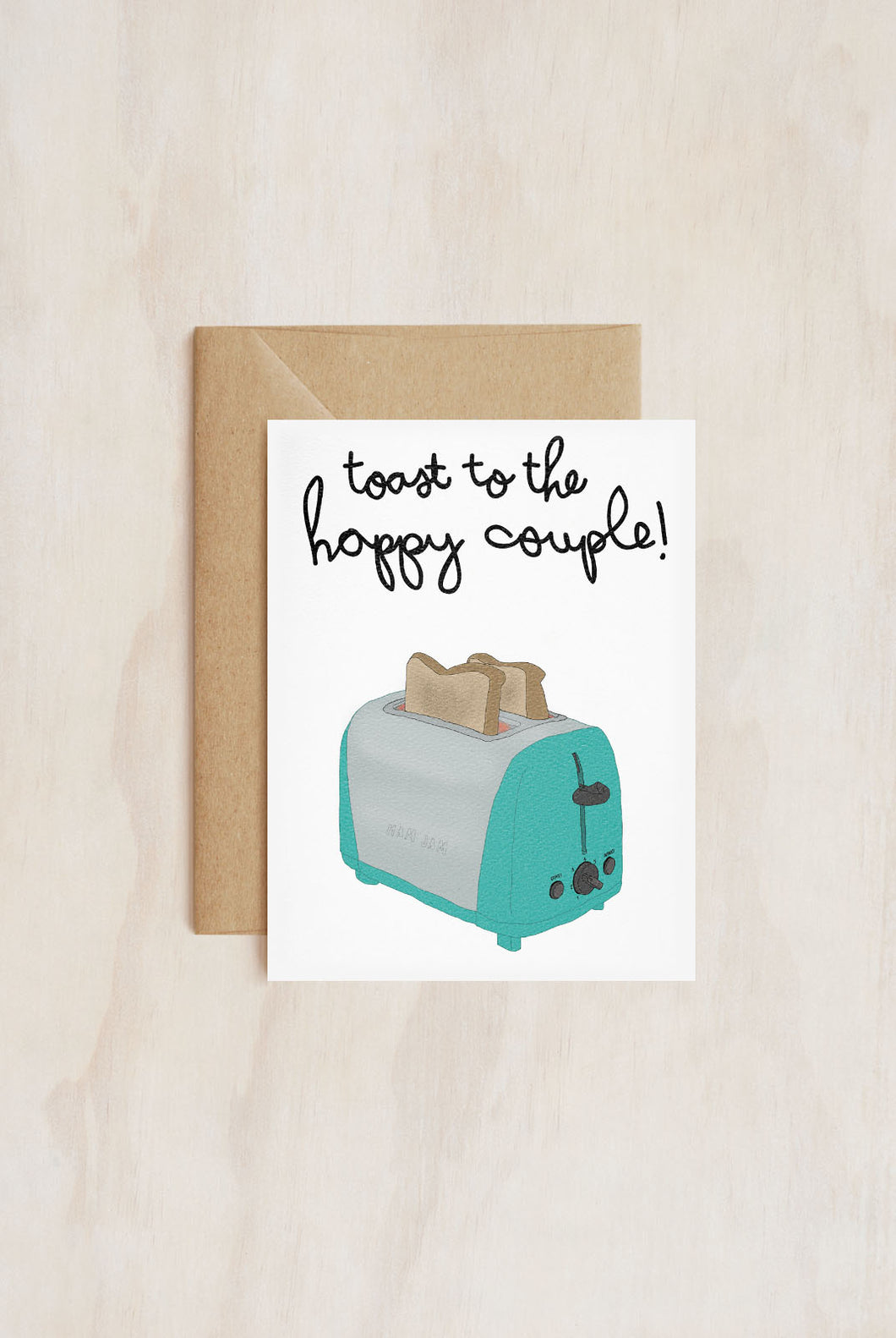 TAY HAM - Single Card - Toast To The Happy Couple