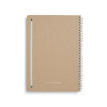 Load image into Gallery viewer, Spiral Notebook - Ruled - B5 - Aqua