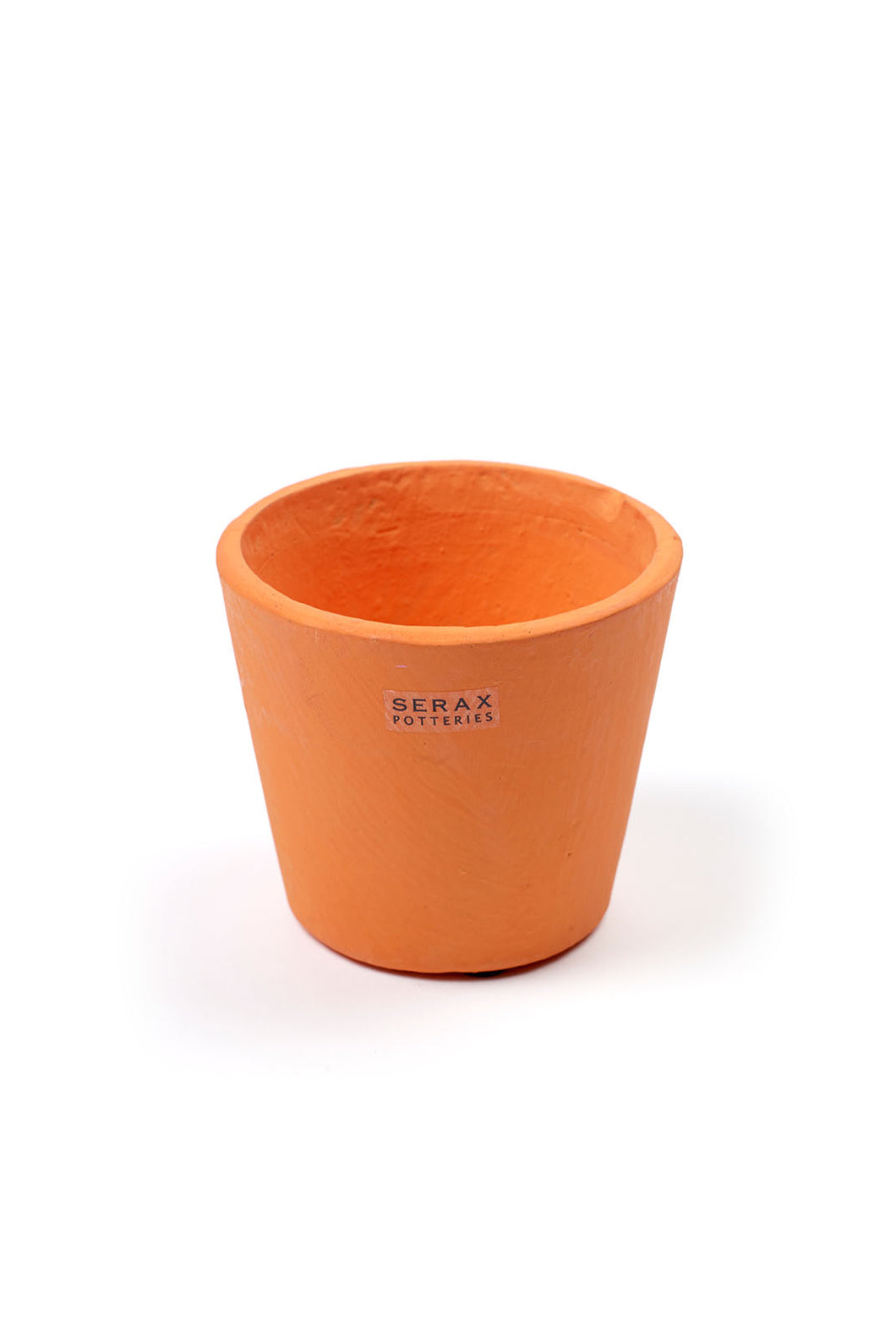 Serax - Pottery Collection - Stoneware Flower Pot - Extra Small - Bright Orange