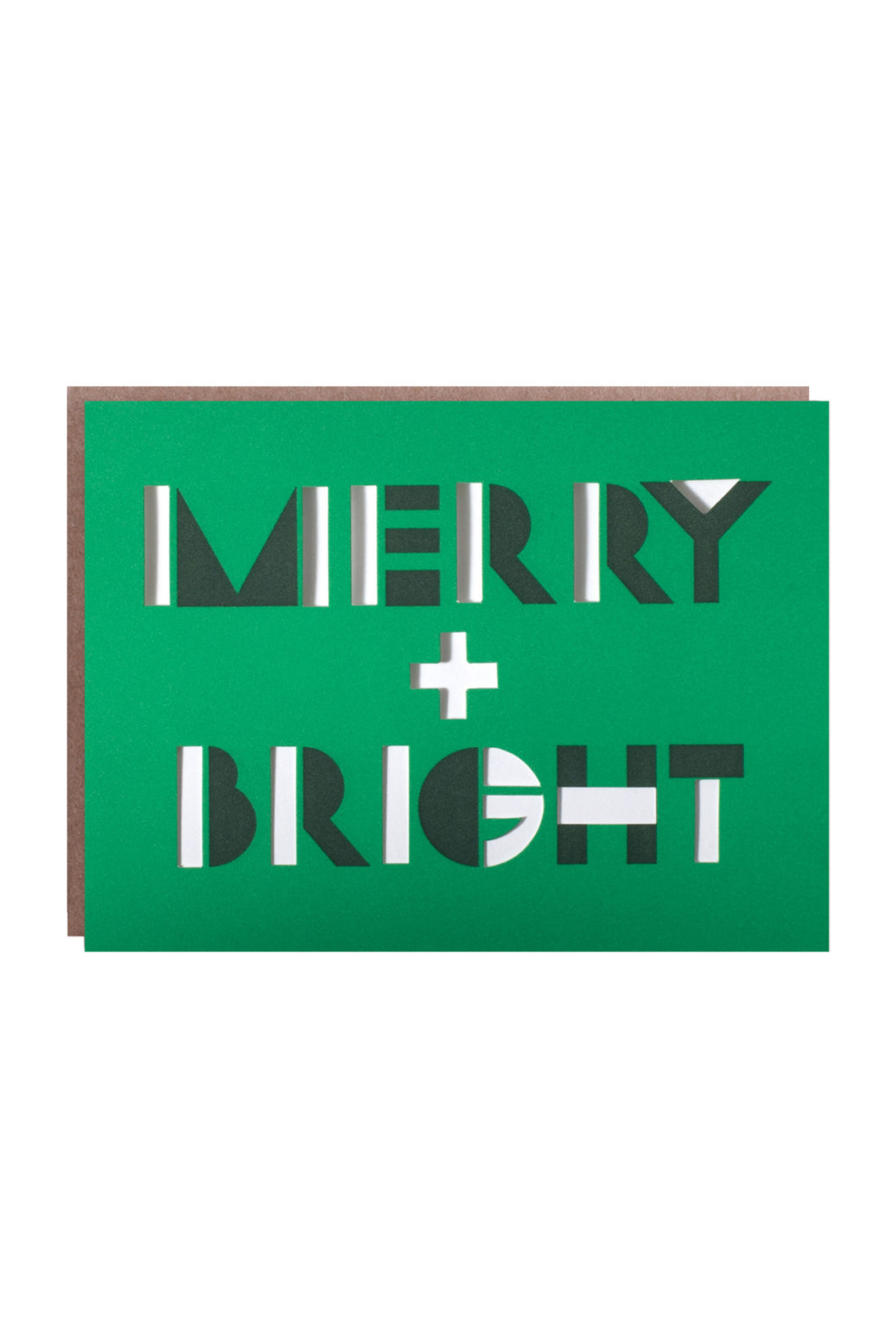 Egg Press - Single Card - Merry & Bright Optical