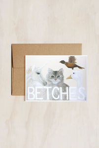 Pigeon Whole - Single Card - Betches