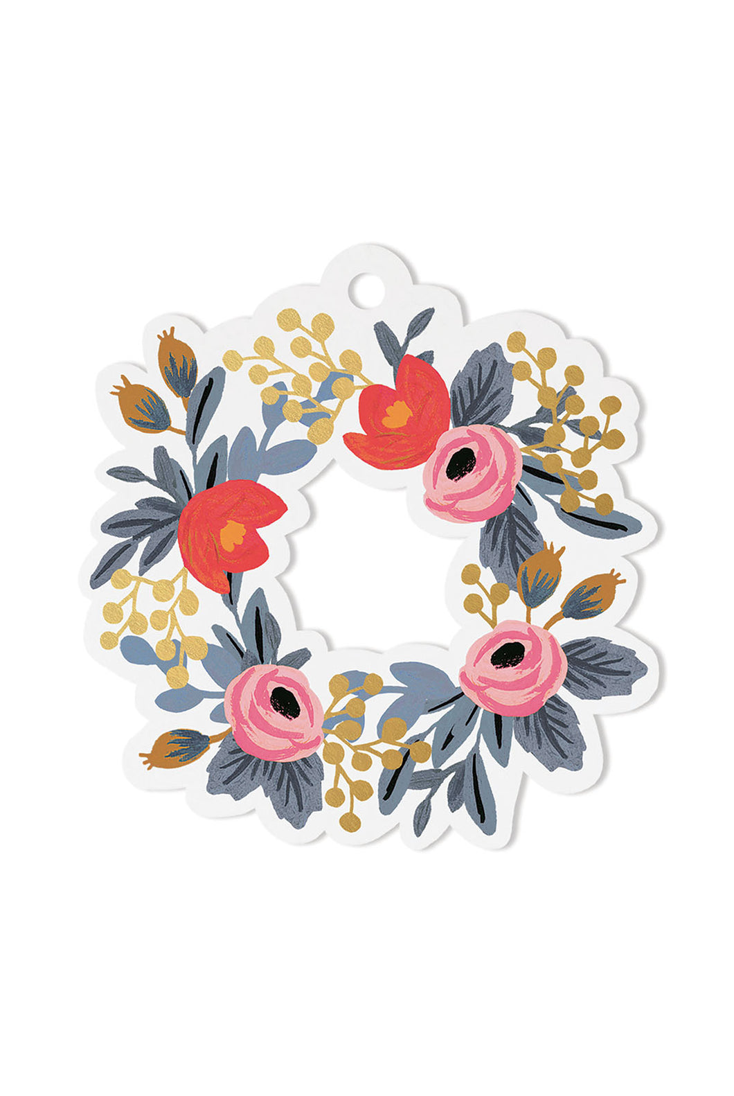 Rifle Paper Co - Die-Cut Gift Tags - Pack of 8 - Rosa