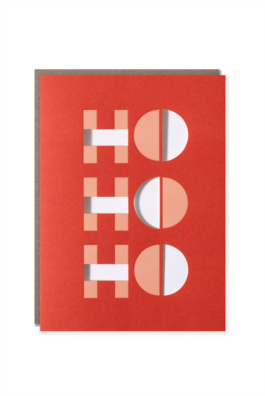 Egg Press - Single Card - Ho Ho Ho Optical