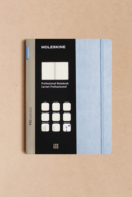 Moleskine - Professional Notebook - Hard Cover - Extra Large (19x25cms) - Aster Grey